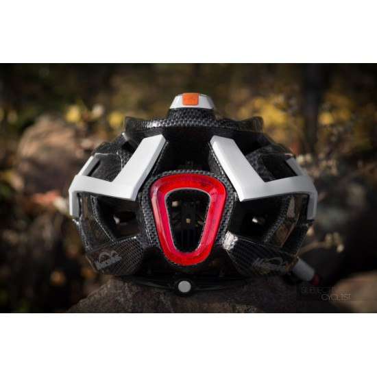 Magicshine Genie Bike Helmet - turn signals - frontlight and intelligent brake light