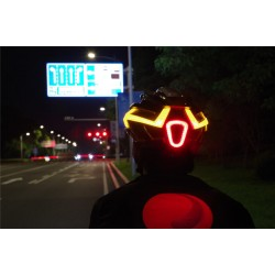 Magicshine Genie Bike Helmet - turn signals - frontlight and intelligent brake light